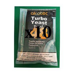 10 x Alcotec 48 Turbo Yeast Value Pack