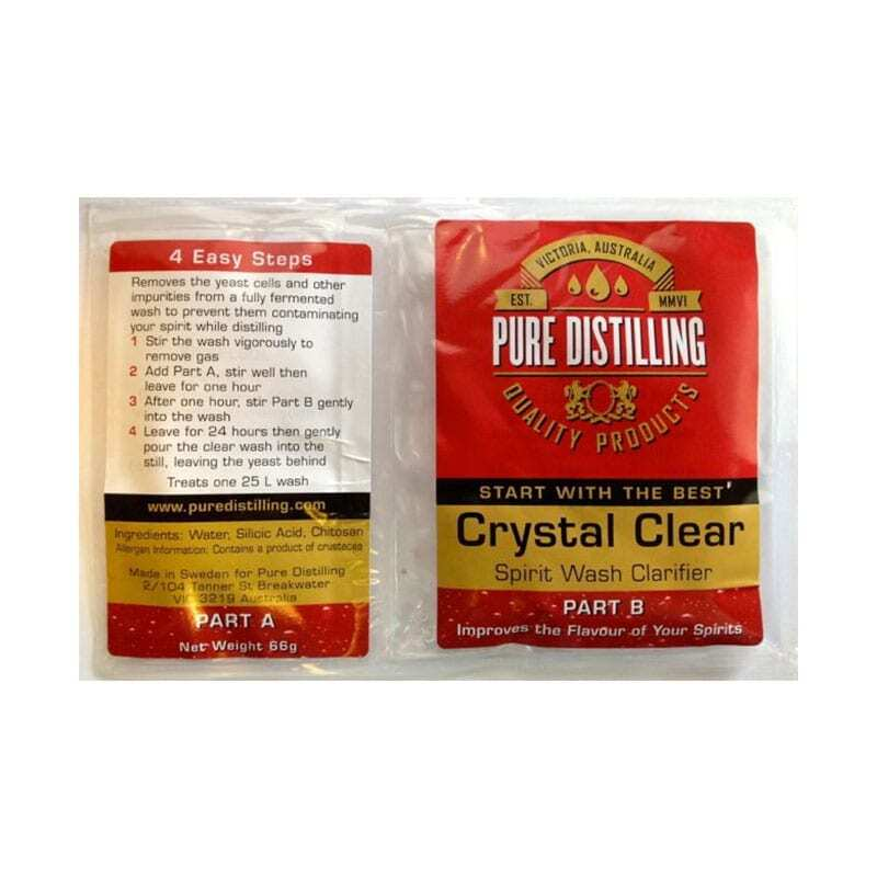 Pure Distilling Crystal Clear Clarifier