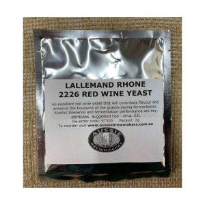 Lallemand Rhone 2226 Red Wine Yeast - 7g