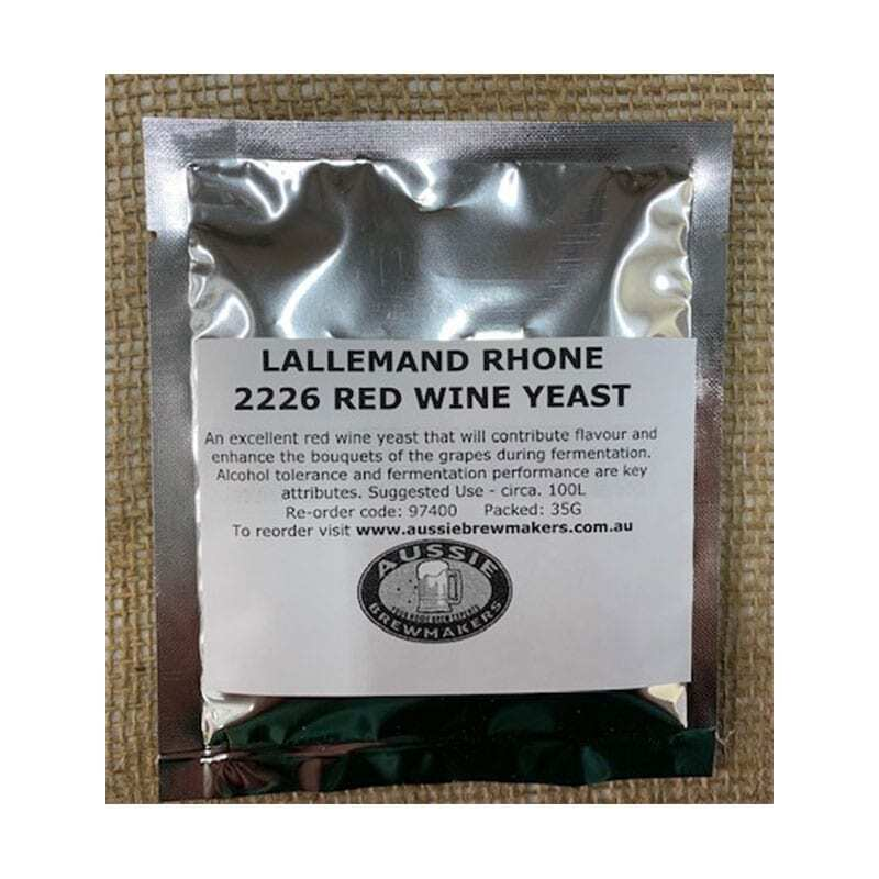 Lallemand Rhone 2226 Red Wine Yeast - 35g