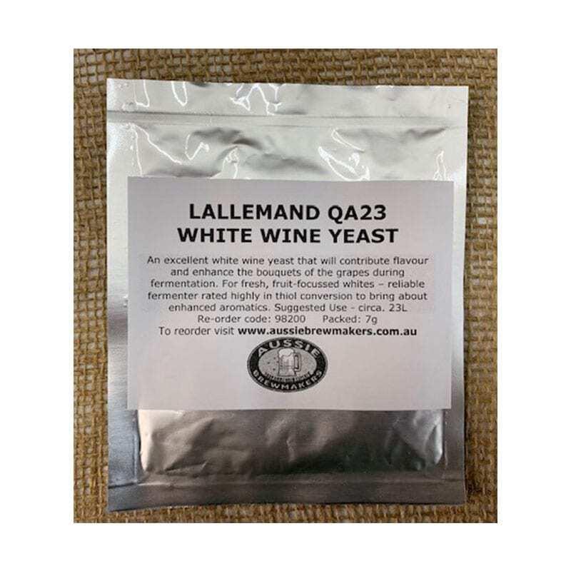 Lallemand QA23 White Wine Yeast - 7g