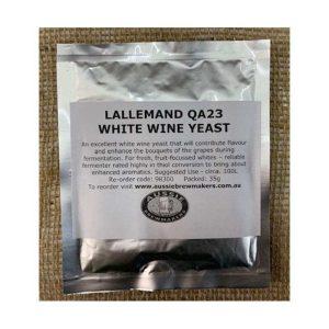 Lallemand QA23 White Wine Yeast - 35g