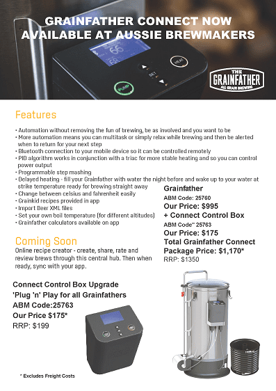 Grainfather Connect Control Box - Now Available 2