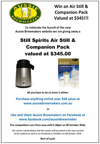 Win an Air Still & Companion Pack Valued at 5.00 19