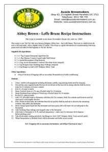 Abbey Brown - Leffe Brune-212x300