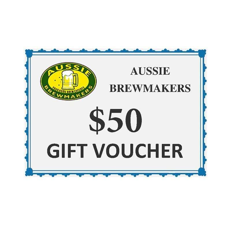 Aussie Brewmakers $50 Gift Voucher