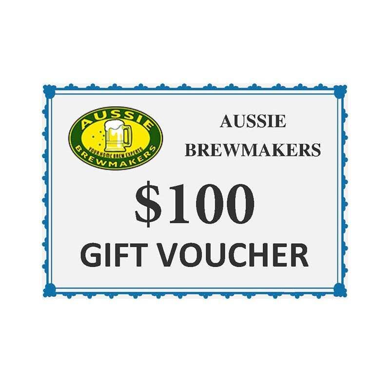 Aussie Brewmakers $100 Gift Voucher