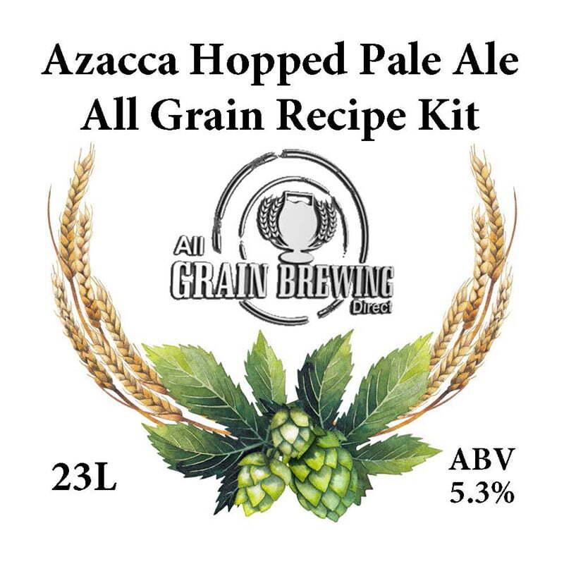 Azacca Hopped Pale Ale All Grain Recipe Kit