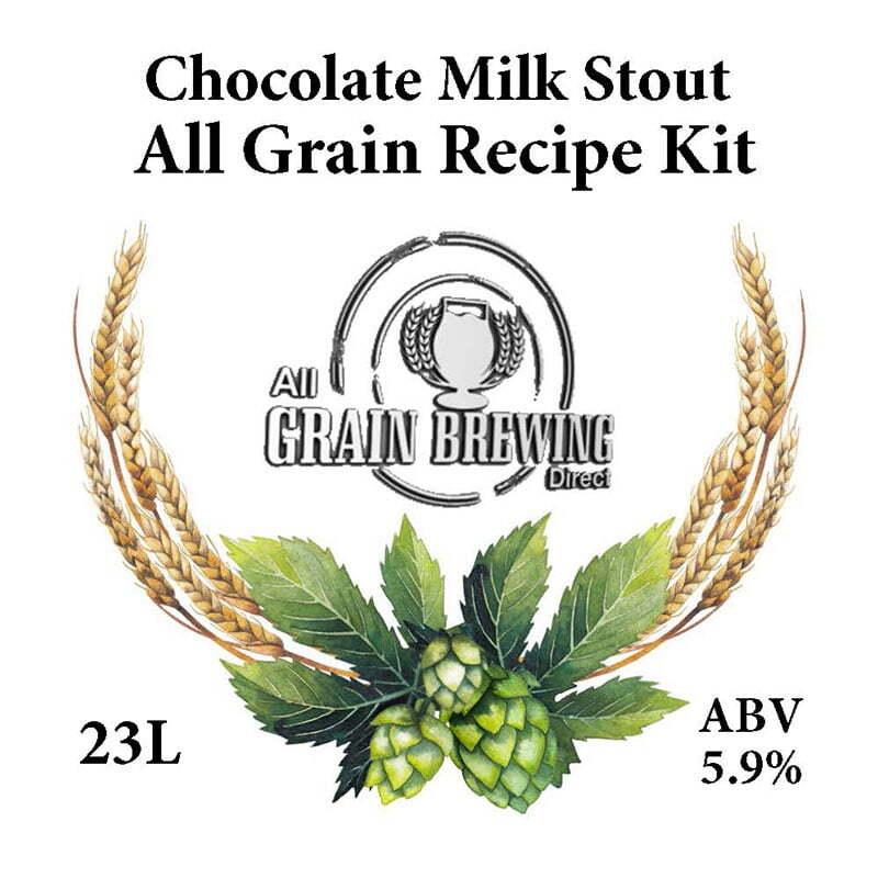 Chocolate Milk Stout All Grain Recipe Kit