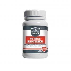 Mangrove Jack's No Rinse Sanitiser 250g