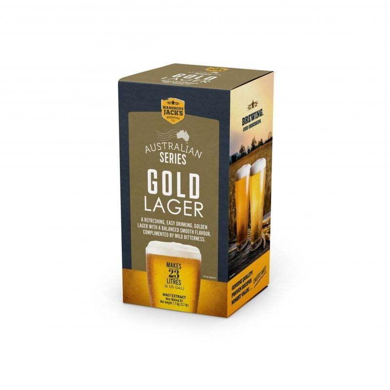 Mangrove Jacks Australian Brewers Series Gold Lager