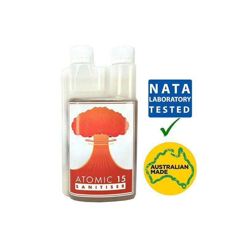 Atomic 15 Foaming No Rinse Sanitiser