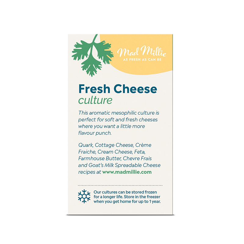 Mad Millie Fresh Cheese Culture 5 Pack Description