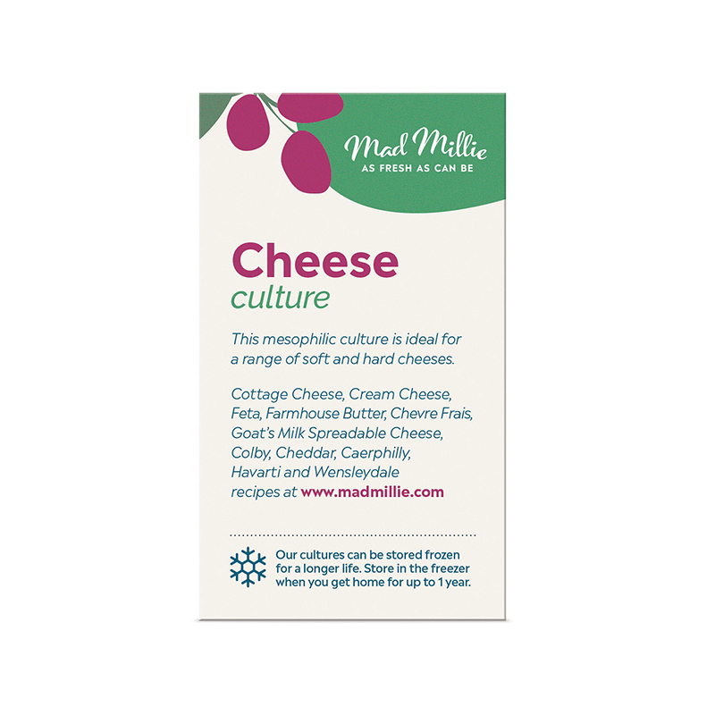 Mad Millie Cheese Culture 5 Pack Description