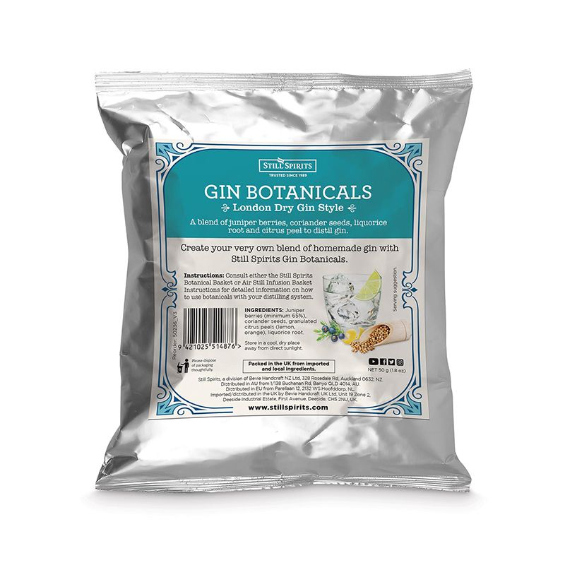 SS Gin Botanicals London Dry Gin