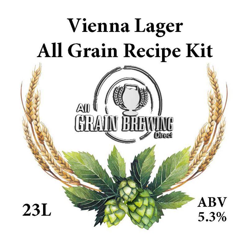 Vienna Lager All Grain Recipe Kit - 23L