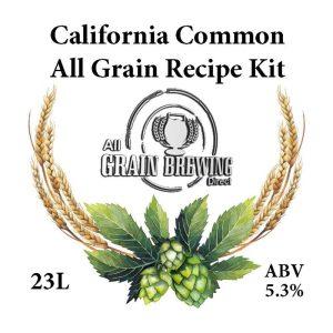 California Common All Grain Recipe Kit 23L