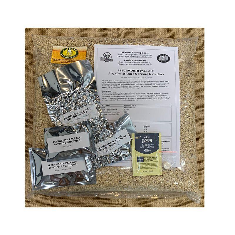 Beechworth Pale Ale All Grain Recipe Kit