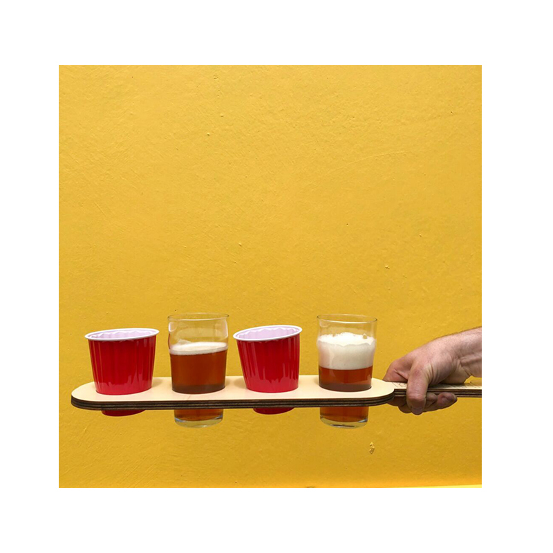 Beer Paddle - 4 Glass
