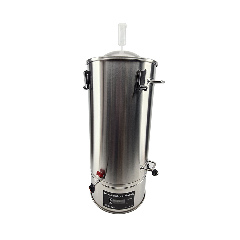 35L SS Bucket Buddy Fermenter with Integrated Heating Element