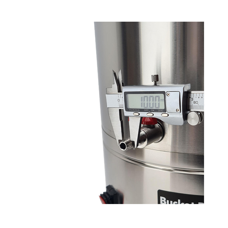 35L SS Bucket Buddy Fermenter with Integrated Heating Element Tap Diameter
