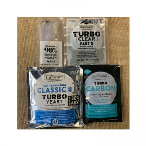 Still Spirits Classic 8 Turbo Yeast, Turbo Carbon and Turbo Clear Pack