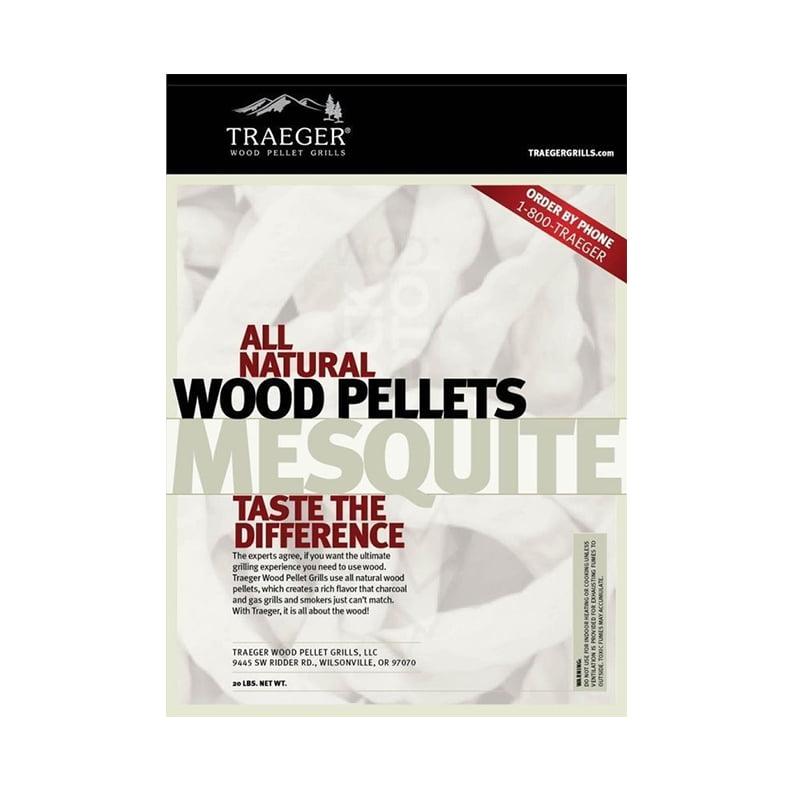 Traeger Wood Pellets - Mesquite 9kg