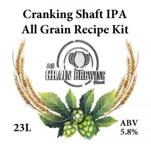 Bentspoke Crankshaft IPA All Grain Recipe Kit