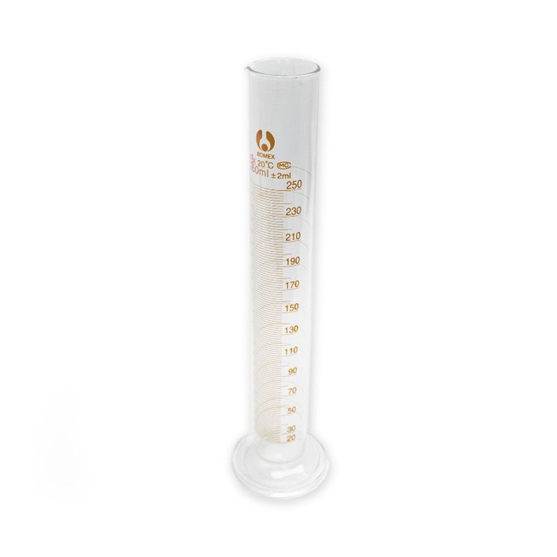 250ml Measuring Cylinder with 2ml Graduations