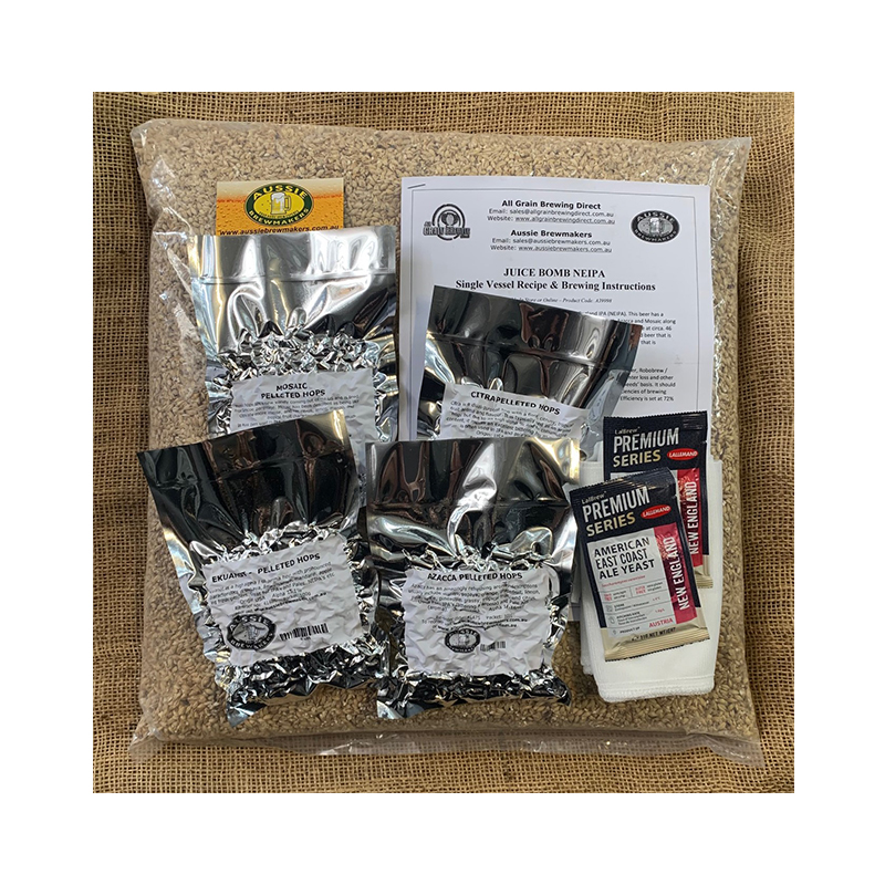 Juice Bomb NEIPA All Grain Recipe Kit